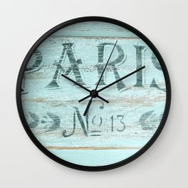 No. 13 Wall Clock