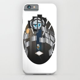 Portal 2 Isometric Poster iPhone Case