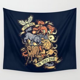 Win or Die Wall Tapestry