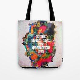 C R ▲ Z Y Tote Bag