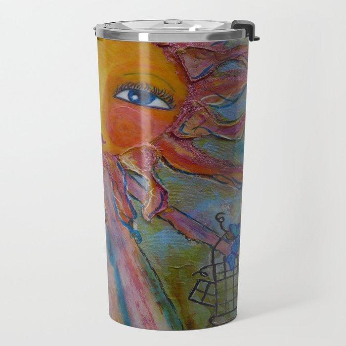 Miss Sunshine - Whimsies of Light Children Series Travel Mug