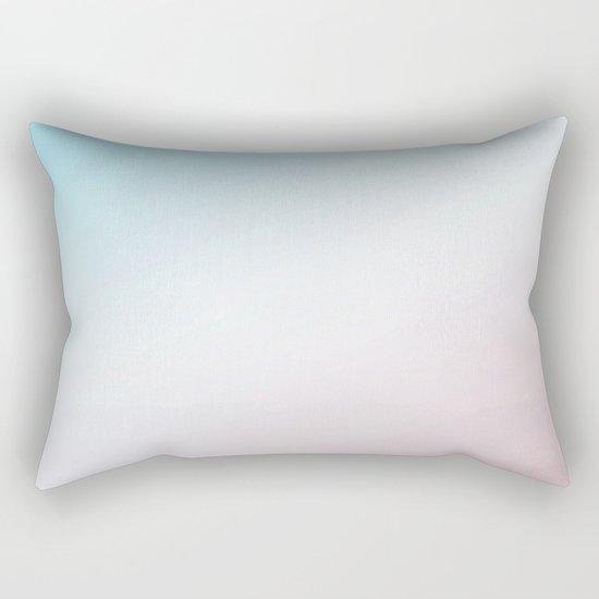 Modern Abstract Pink Blue Rectangular Pillow