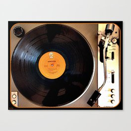 Vintage Pioneer Turntable Canvas Print