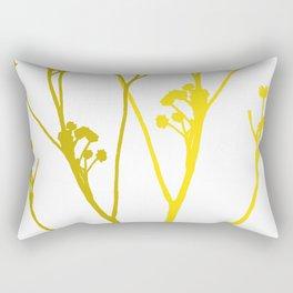 Cast a shadow Rectangular Pillow