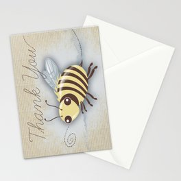Bumble Bee Thank You Card Stationery Cards