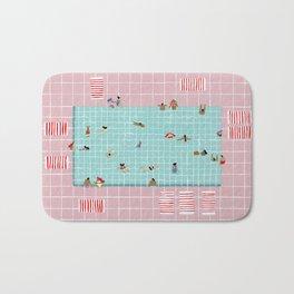 Pink Tiles Bath Mat