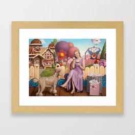 Sundae Afternoon Framed Art Print