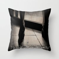 casablanca Throw Pillows featuring Casablanca by Ginevra