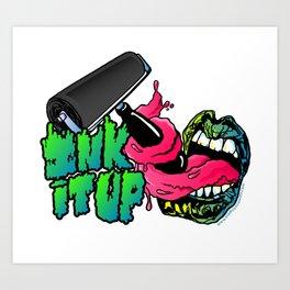 Ink It Up Art Print