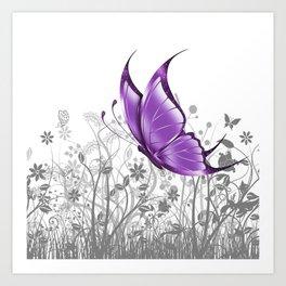 Fantasy Butterfly #7 Art Print