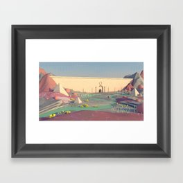 The Wall Framed Art Print