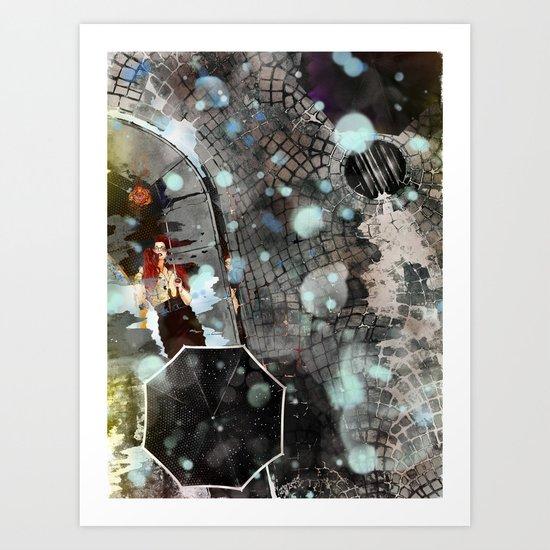COLOR RAIN Art Print