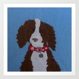 Dog Tag #2 Art Print