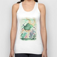 diver Tank Tops featuring Diver by Jenny Jordahl
