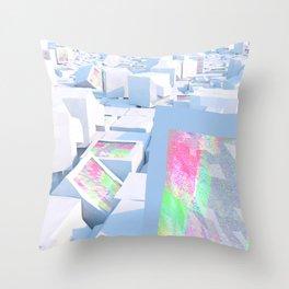 Cluttered Throw Pillow