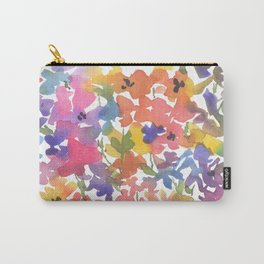 Windy Wildflowers Carry-All Pouch