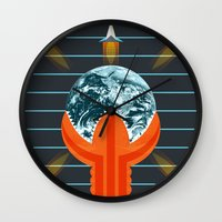 dune Wall Clocks featuring Dune by milanova