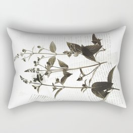 Botanical Catalogue 1 Rectangular Pillow