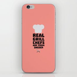 Real Grill Chefs are from Sweden T-Shirt D54jd iPhone Skin