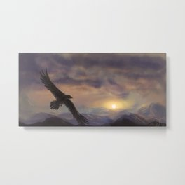 Chase the Morning Metal Print