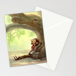 The Resting Traveler Stationery Cards