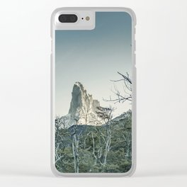 Fitz Roy Mountain, el Chalten - Patagonia - Argentina Clear iPhone Case