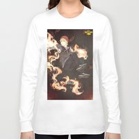 infamous Long Sleeve T-shirts featuring PewDiePie - Infamous by SerenaArtworks