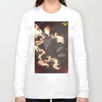 pewdiepie Long Sleeve T-shirts featuring PewDiePie - Infamous by SerenaArtworks