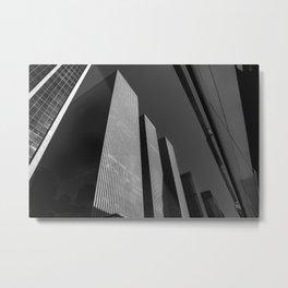 Manhattan Blocks Metal Print
