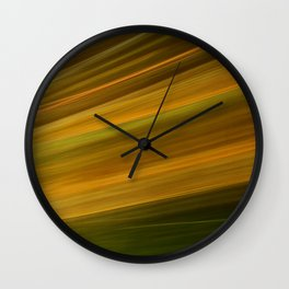 Twisted Petal 4 - Abstract ICM Wall Clock