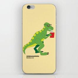 Dorkasaurus iPhone Skin