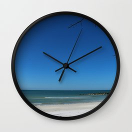 Honeymoon Island Wall Clock