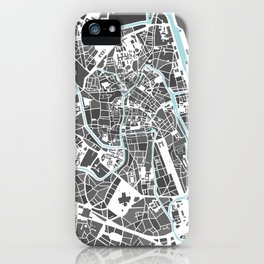 Ghent City Map I iPhone Case