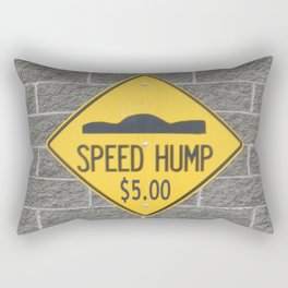 SPEED HUMP  Rectangular Pillow