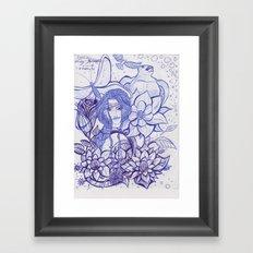 Cover Art_ Ink Concept Sketch Framed Art Print
