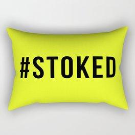 STOKED Rectangular Pillow