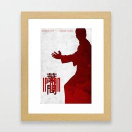 The Grandmaster - Ip Man Poster Framed Art Print