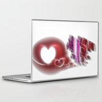 valentine Laptop & iPad Skins featuring Valentine by Fine2art