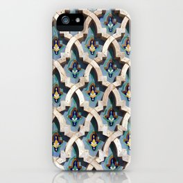 Moroccan Tile Pattern iPhone Case