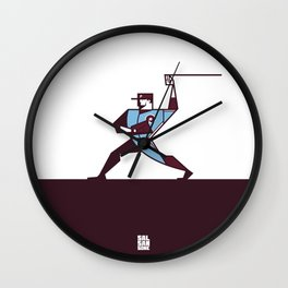 Fightin' Phil Wall Clock