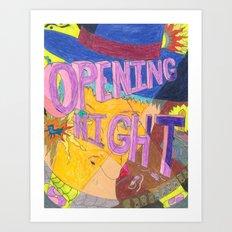 Opening Night Art Print