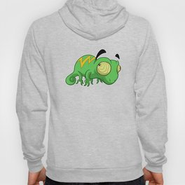 Eyebrow Lizard Hoody