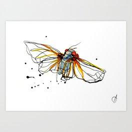 Cicada III Art Print