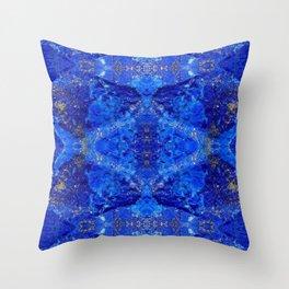 Lapislazzuli dream Throw Pillow