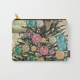 Christmas tree grunge Carry-All Pouch
