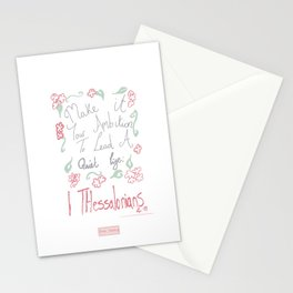 Thessalonians Stationery Cards