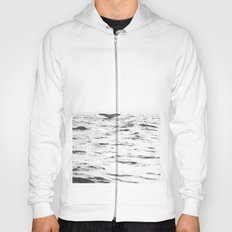 WHITE - SEA - WAVES - WATER - WHALE - NATURE - ANIMAL - PHOTOGRAPHY Hoody