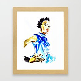 Strike A Pose Framed Art Print