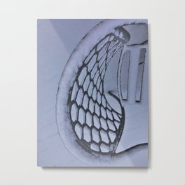 Snow Art Metal Print