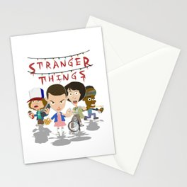STRANGER THINGSS Stationery Cards